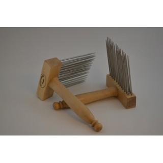 Midi wool combs