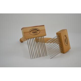 Mini wool combs singel row